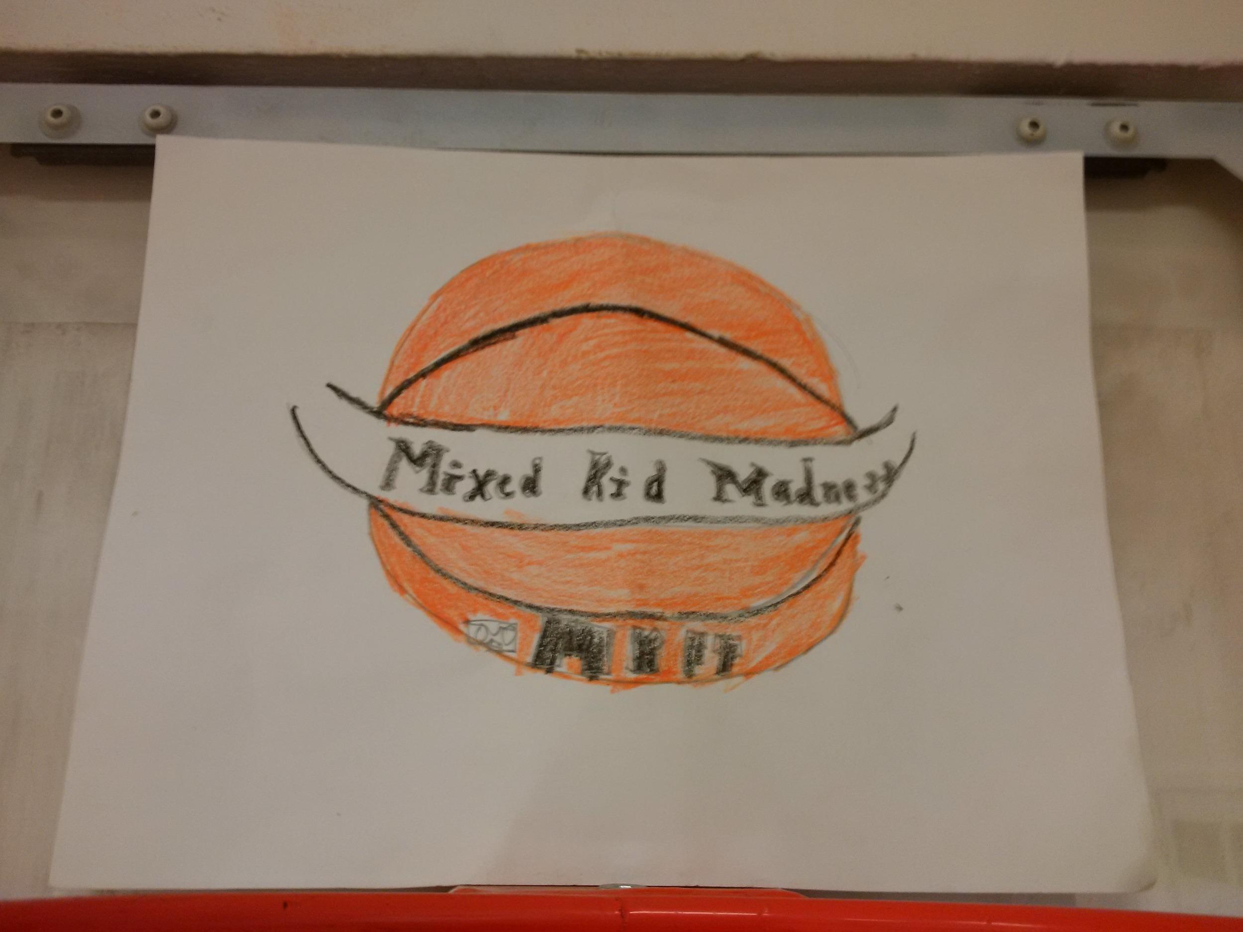 Handmade artwork via Mixed Kid Food Truck.