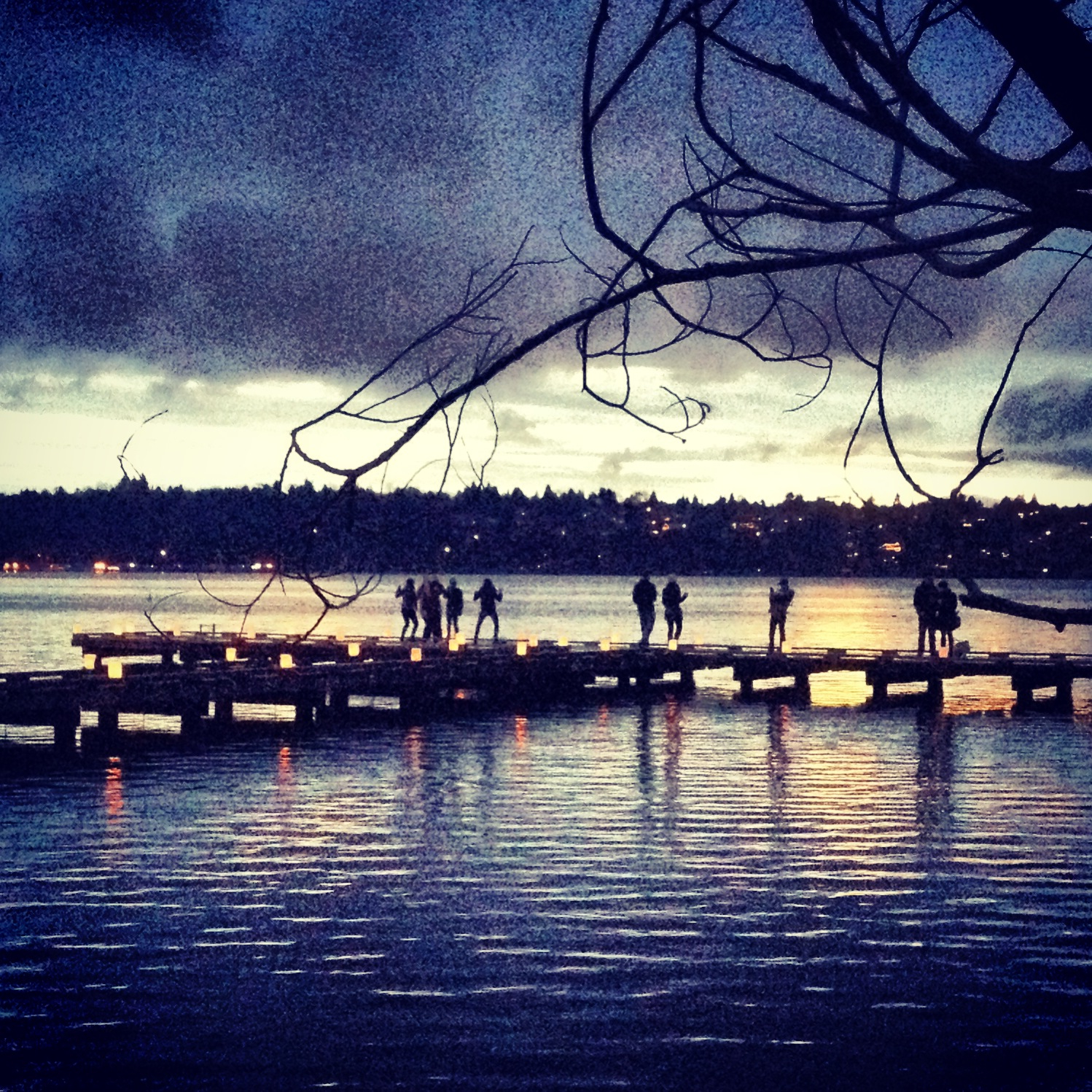 Taken from the Greenlake path.
