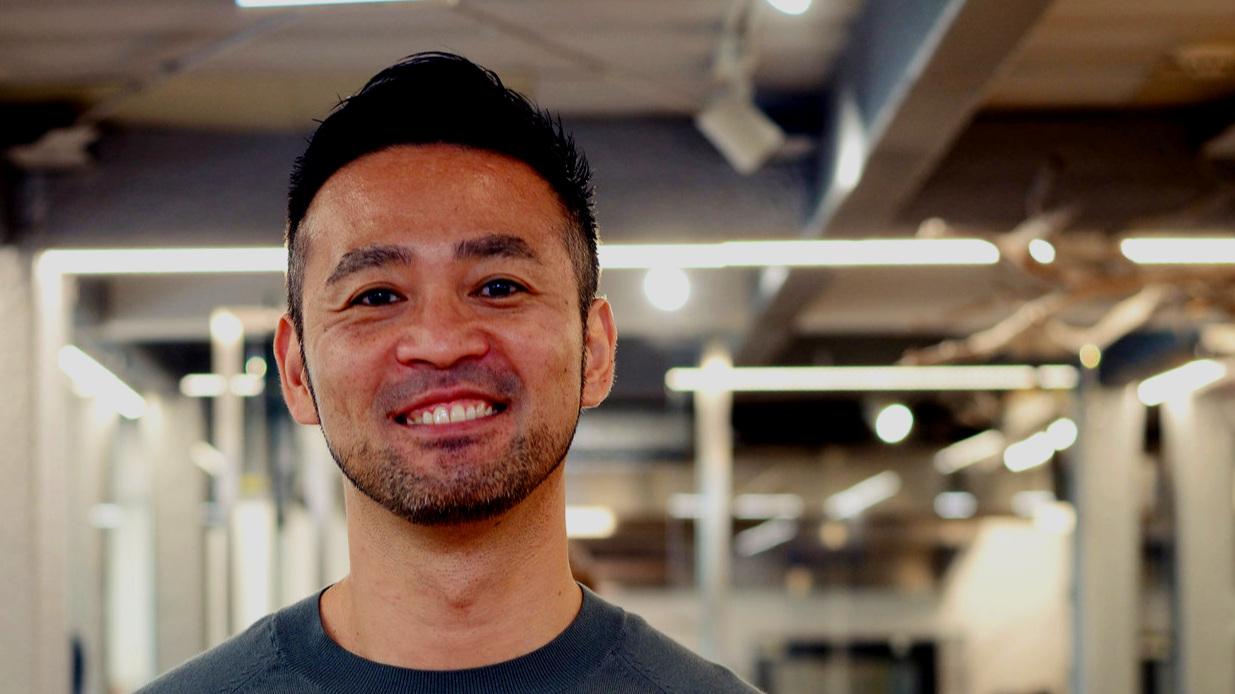 handsome man smiling Bacchus Waikiki 030119