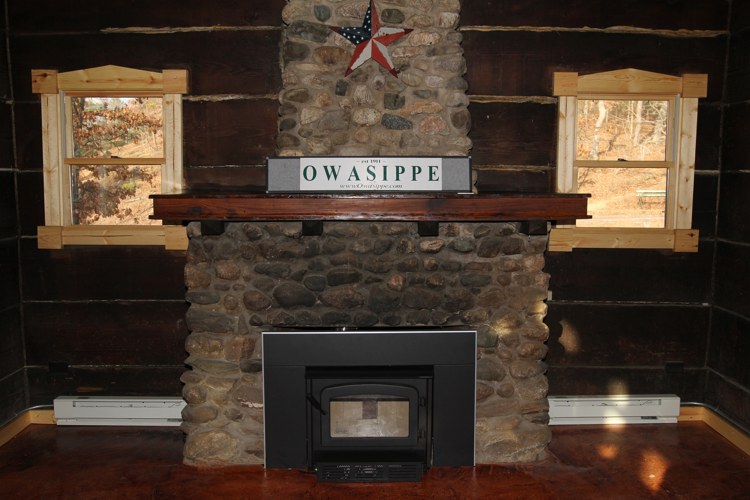 Gathering Space Fireplace