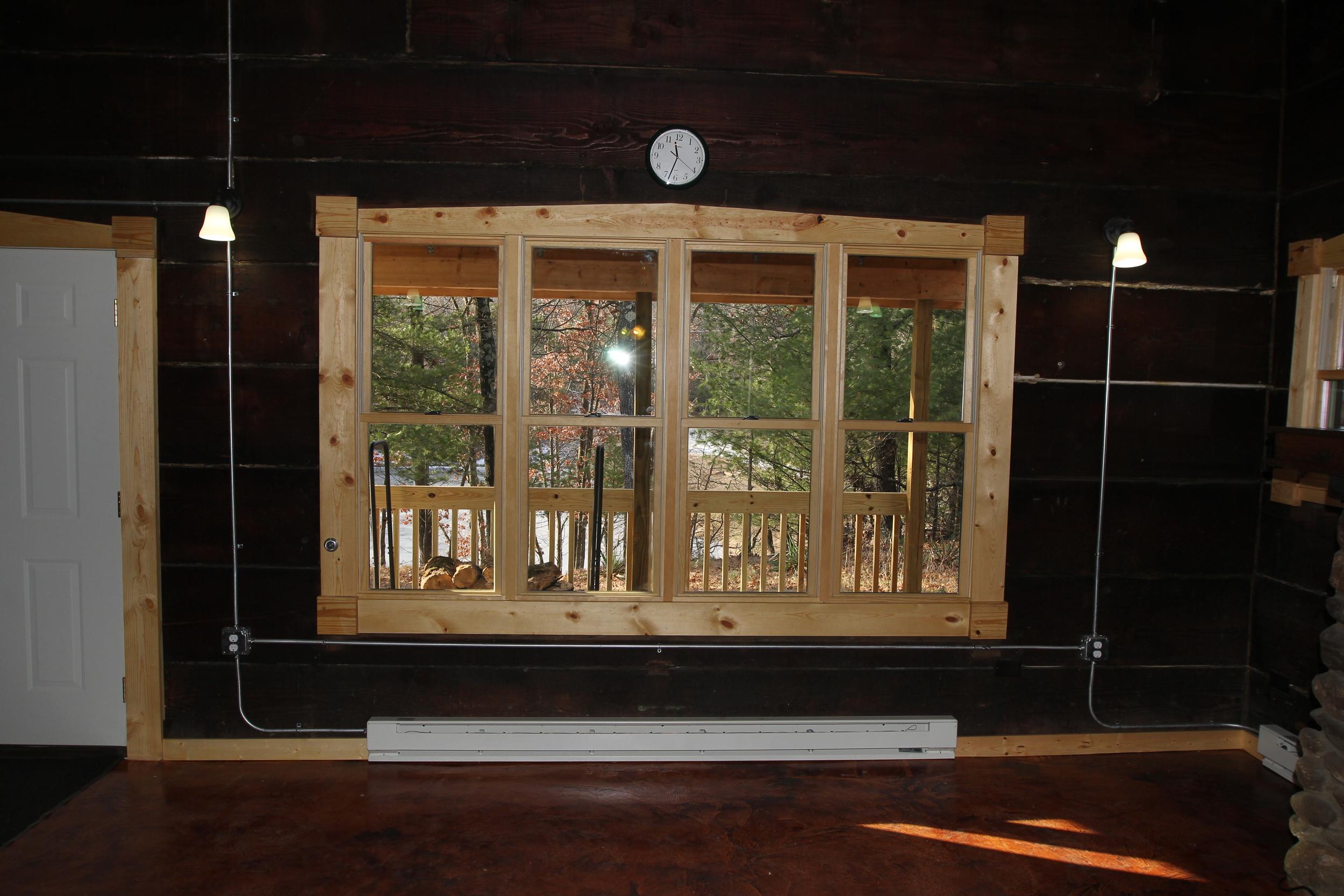 Guest Lodge Porch View