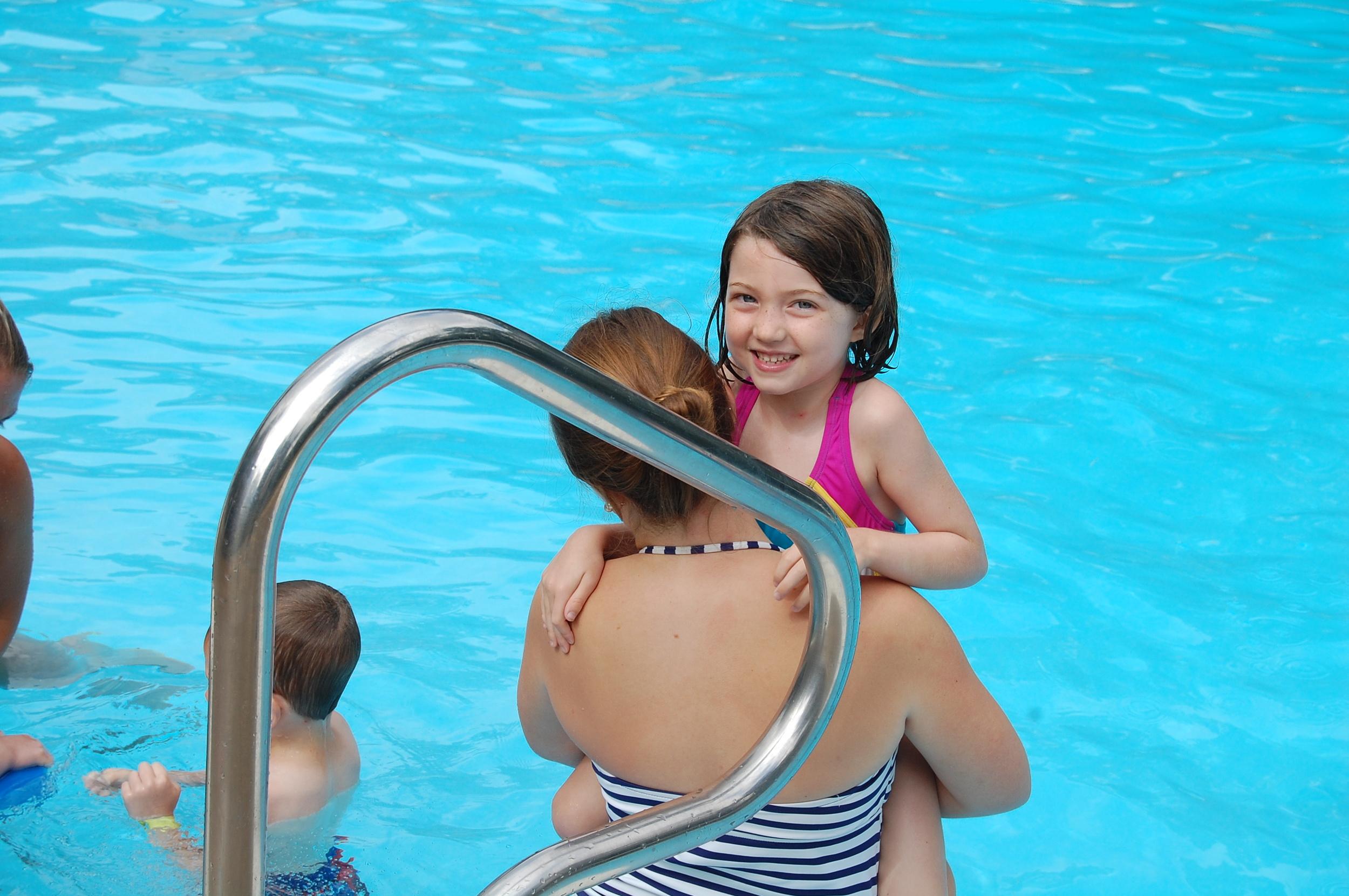Family Camp swim lesson