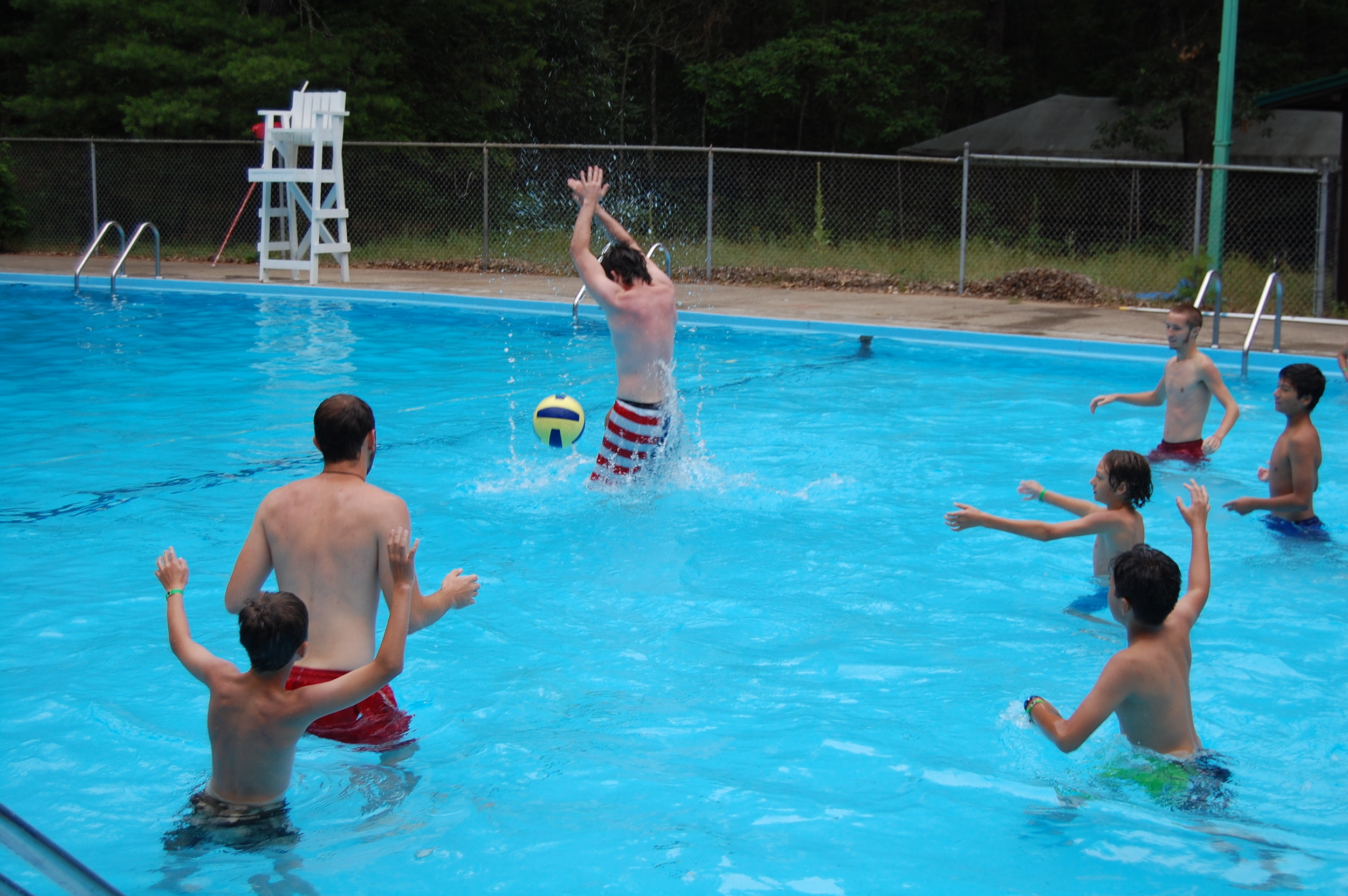 Water Polo: Pathfinder Scouts vs. Commissionors