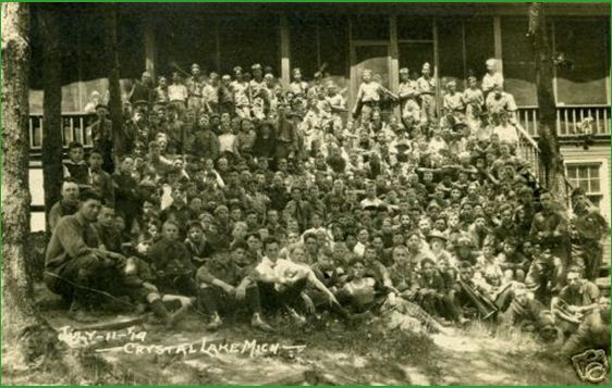 One of the Crystal Lake Camps 1919