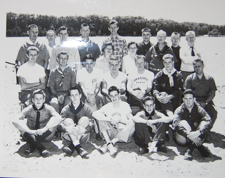 Blackhawk Staff 1954