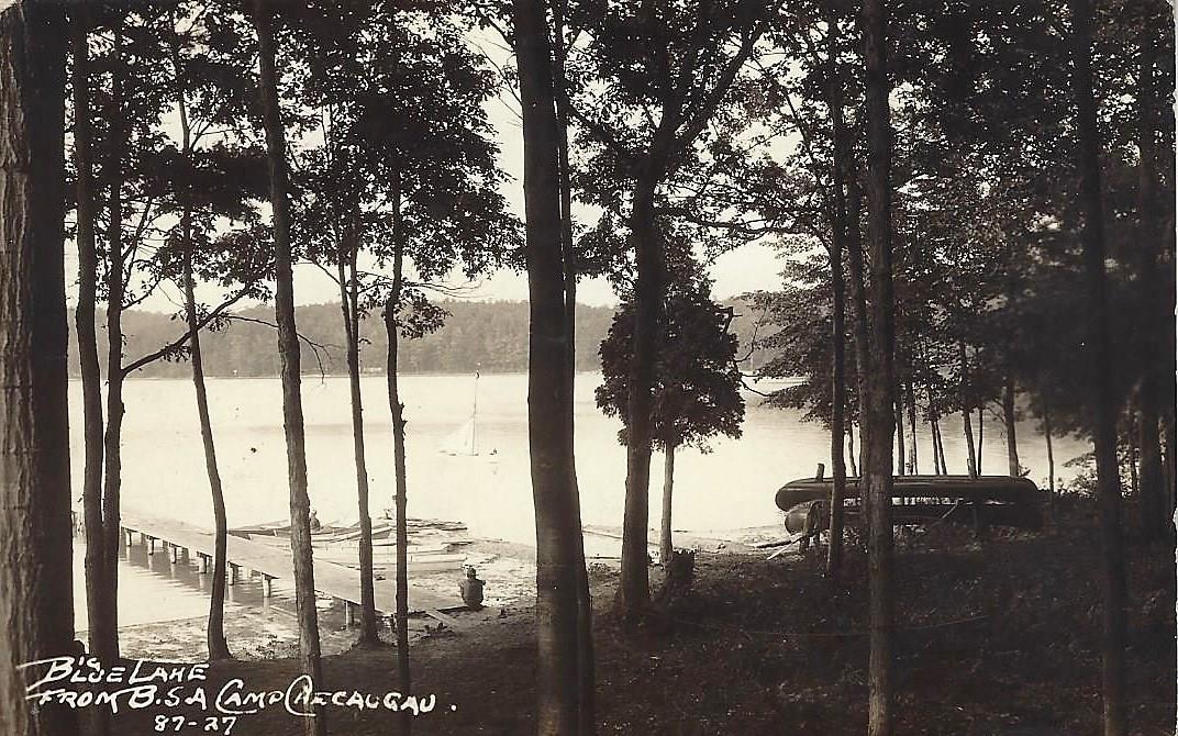 Camp Checaugau Big Blue Lake 1927