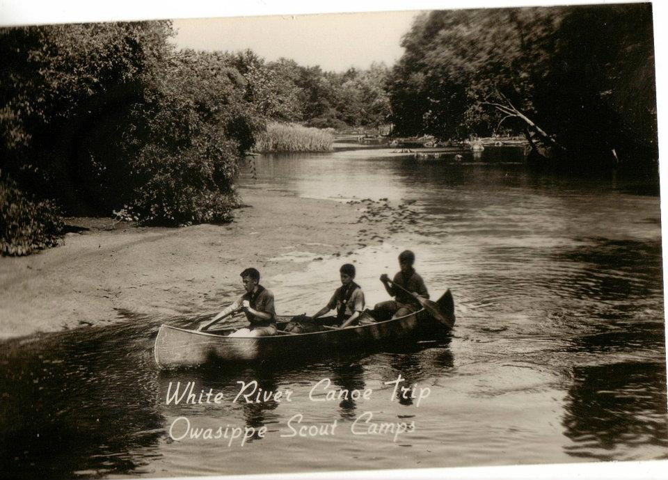 White River Postcard
