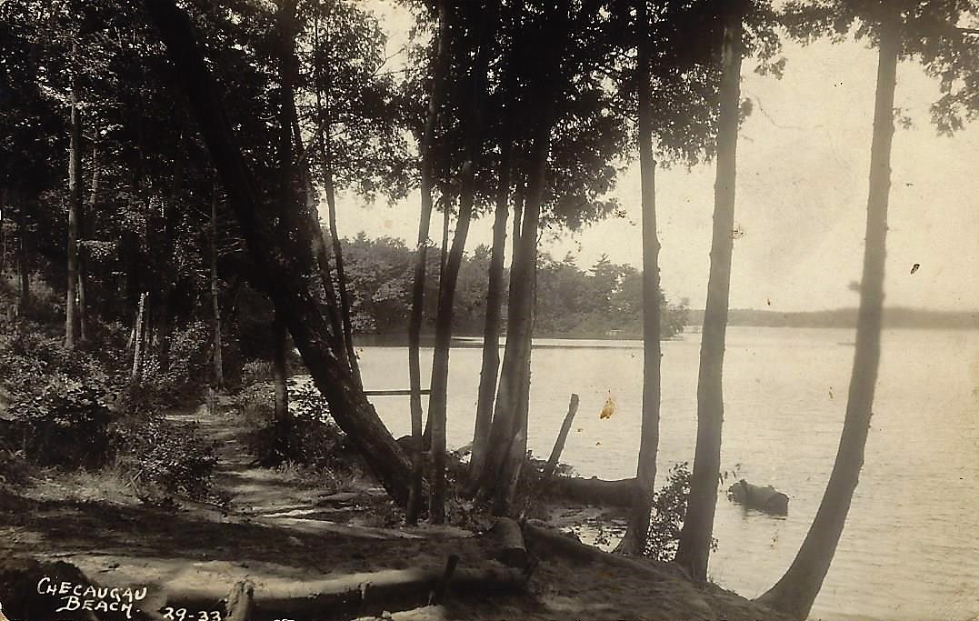 Checaugau Big Blue Beach Trail 1933