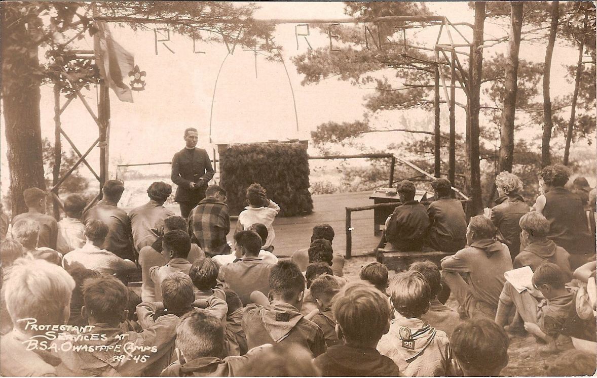 Protestant Services at Owasippe 1945