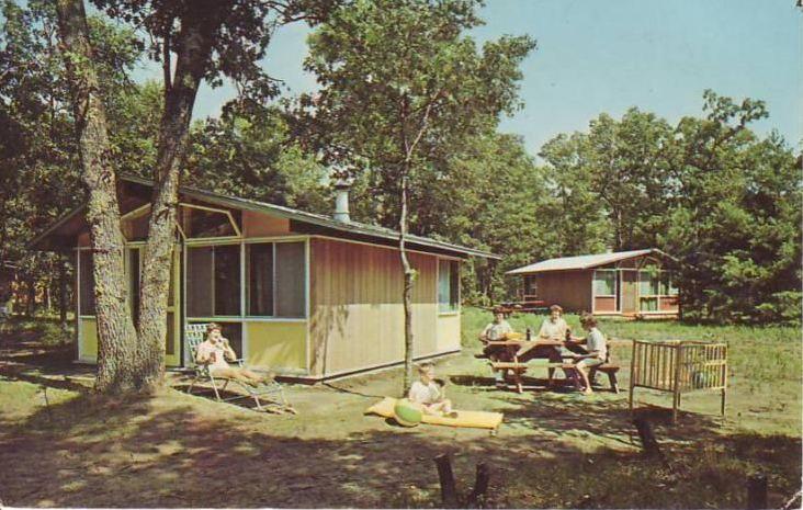 Reneker Family Camp Postcard 1970