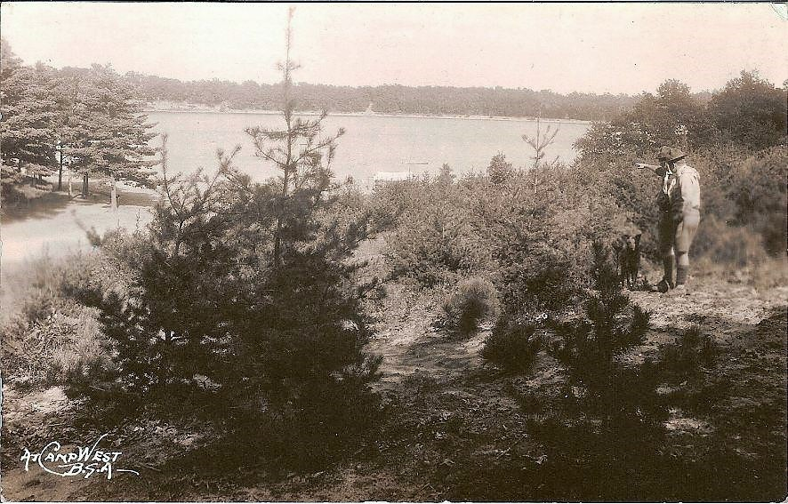 Camp West Overlooking Crystal Lake