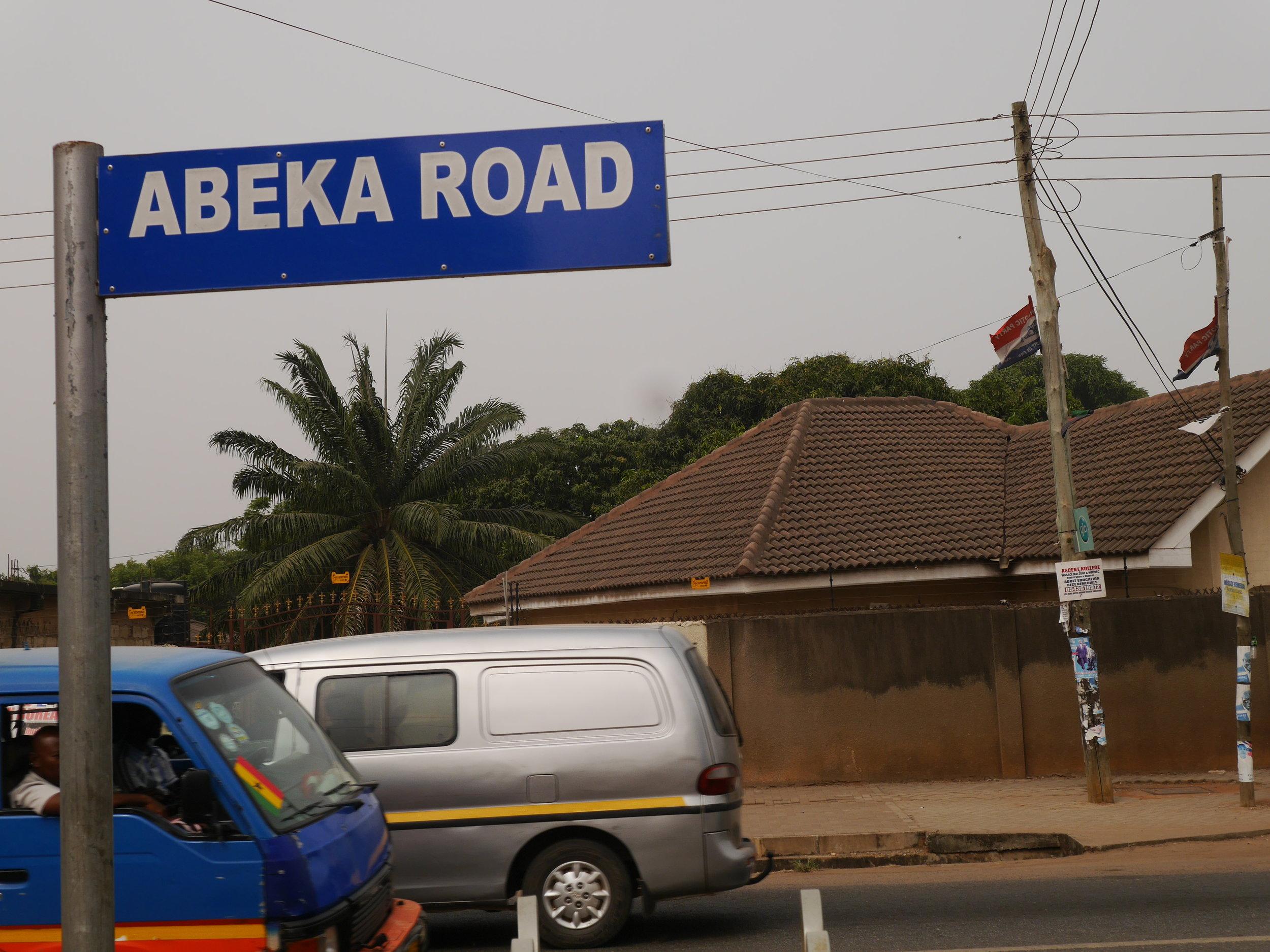 Abeka Road, 2016.