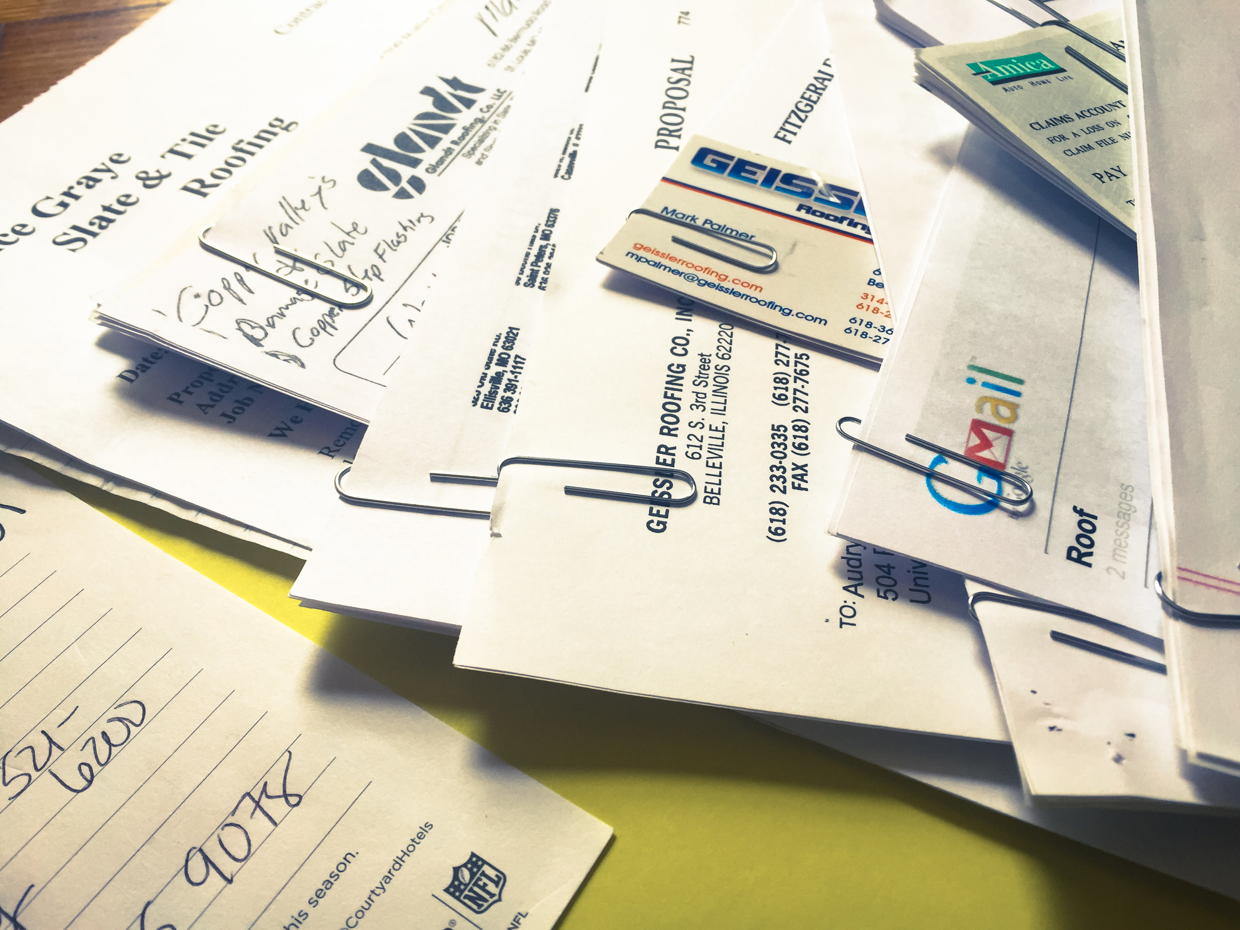 Paperwork can multiply quickly for homeowners with complex situations.