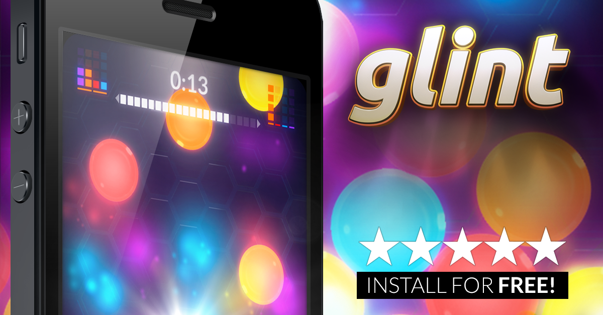 GLINT IS AVAILABLE FOR FREE FROM THE APP STORE