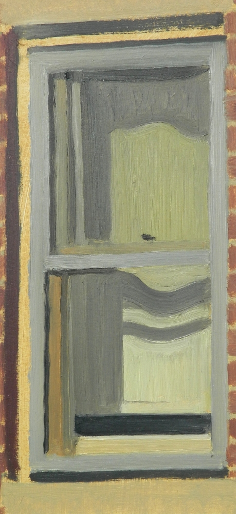 "Michael Allen , ""Window in Afternoon Light"" 12in.x5.5in. (retail value $1000)"