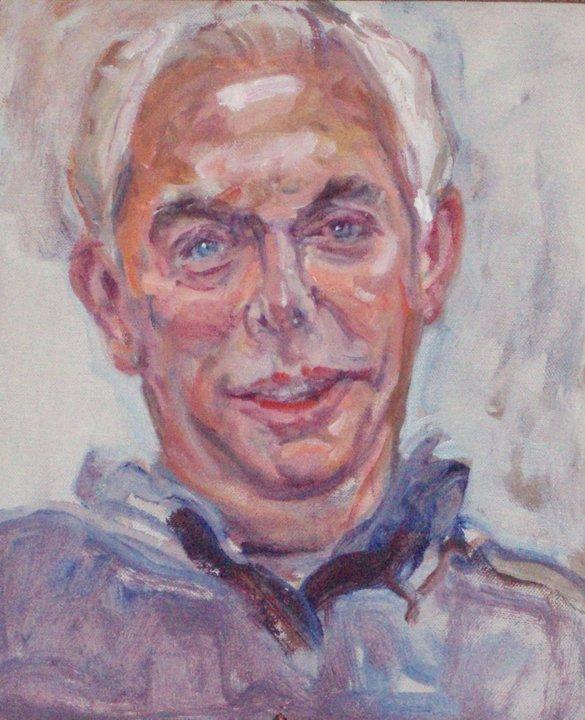 Portrait of Stanley Grand by  Audrey Ushenko