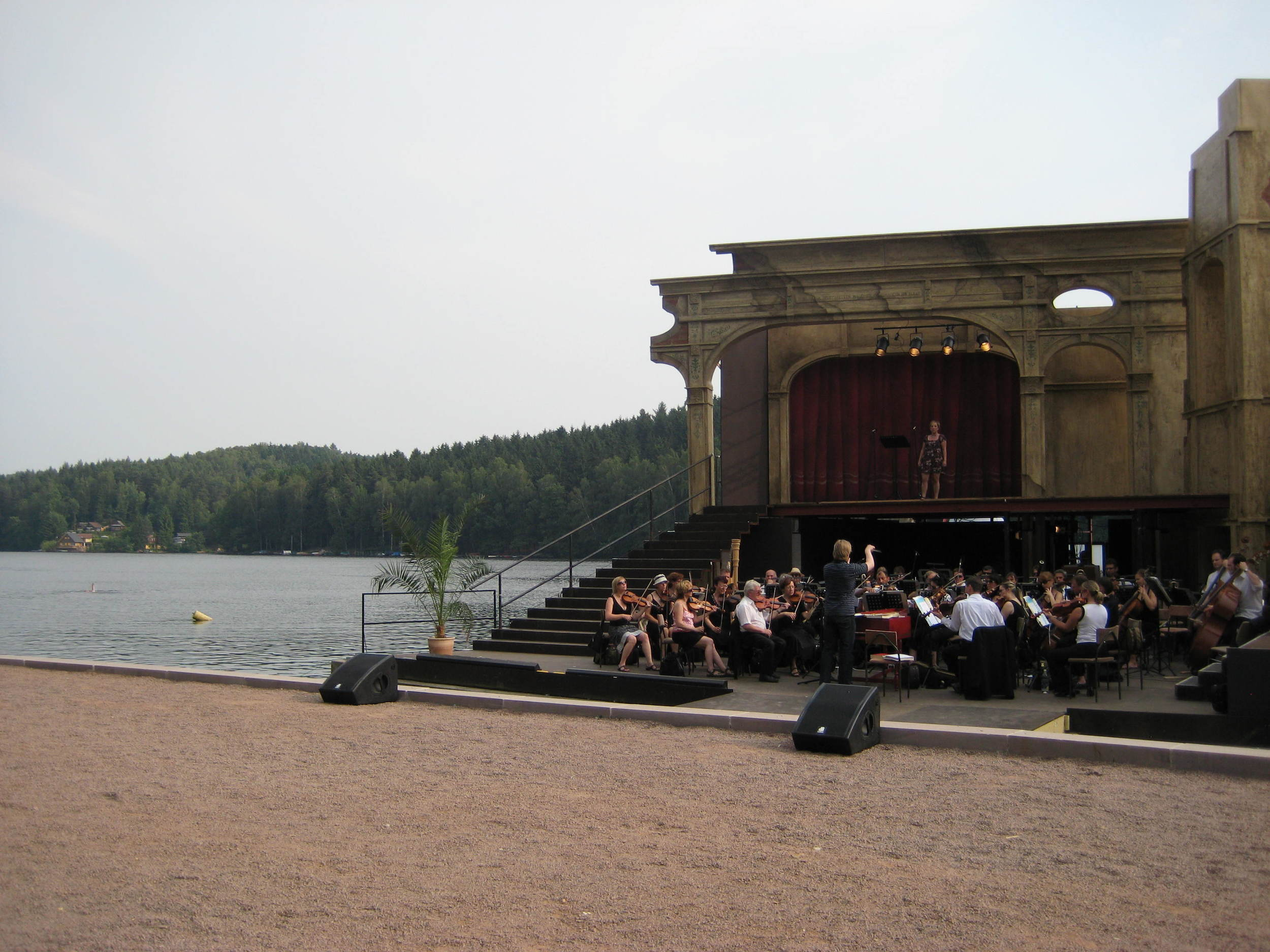Norina's Aria from Don Paquale with the Freiberg Orchestra