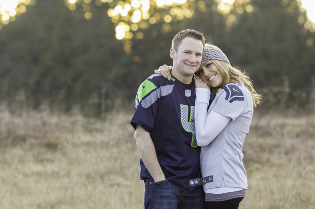 Engagement Session Seattle Seahawks