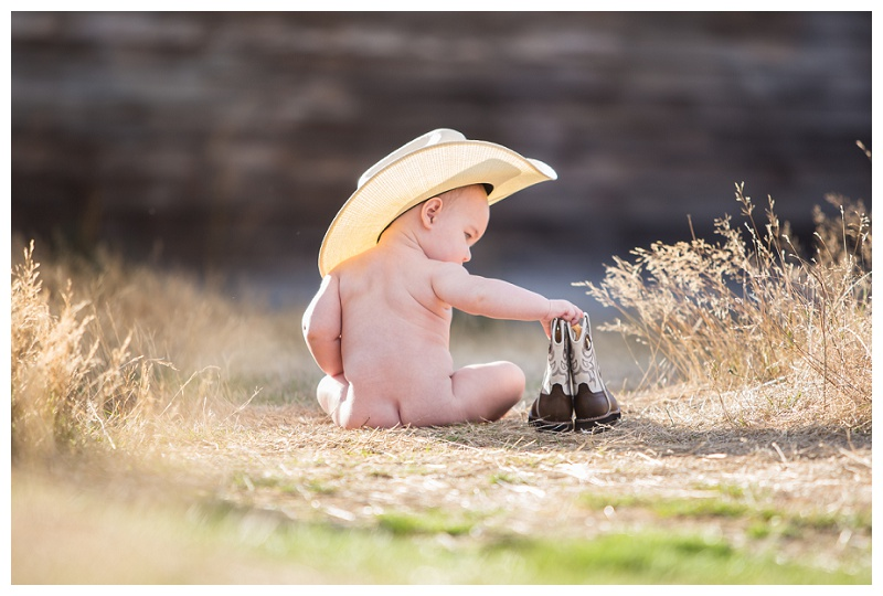 baby cowboy hat and boots