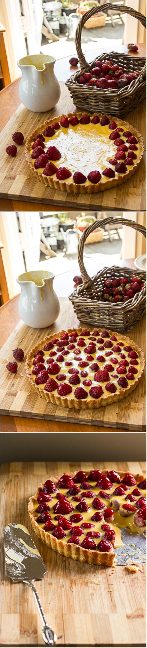 Strawberry Tart Photography © 2012 Helena McMurdo