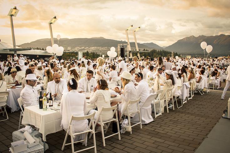Dîner en Blanc Vancouver 2012