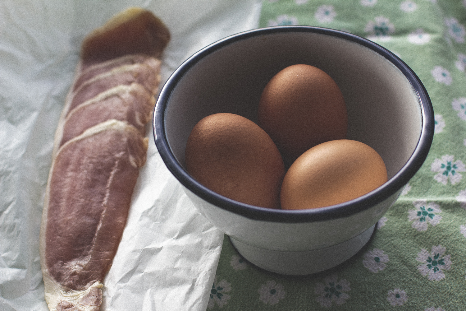 Eggs with Irish Bacon © 2014 Helena McMurdo