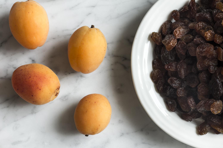 Apricots and Sultanas ©2014 Helena McMurdo