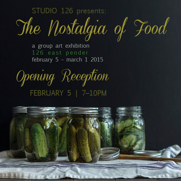 The Nostalgia of Food - Mark your calendars. Photo by Helena McMurdo / Design by Joey Armstrong
