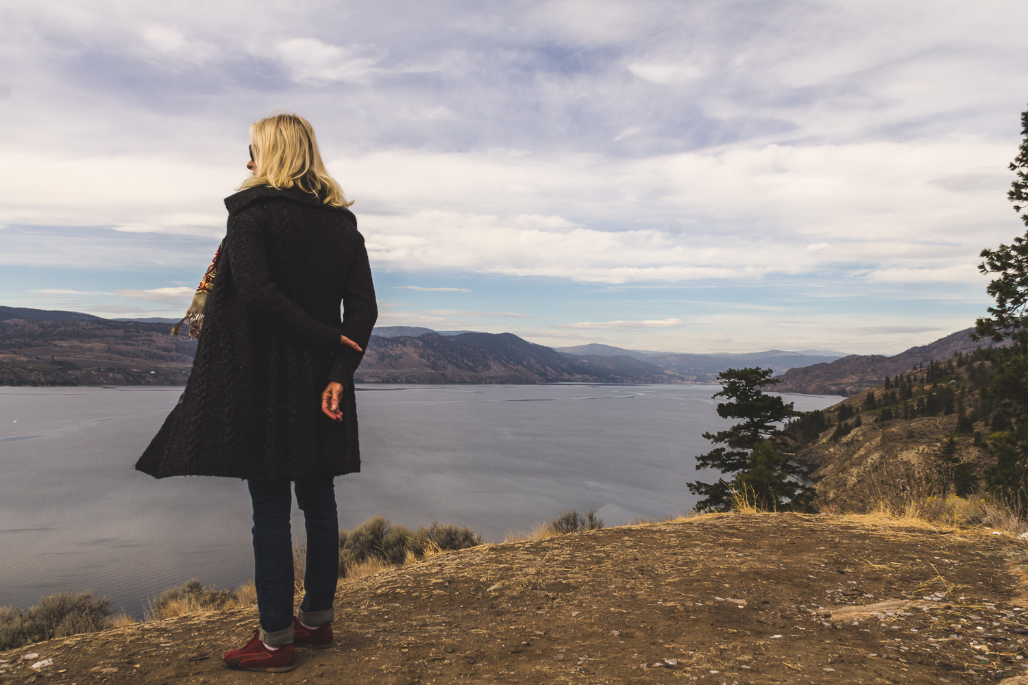 Overlooking Lake Okanagan, near Naramata, BC. Photo by Helena McMurdo/Endless Picnic