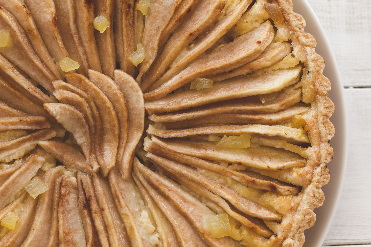 Pear & Ginger Frangipane Tart Photo by Helena McMurdo/Endless Picnic