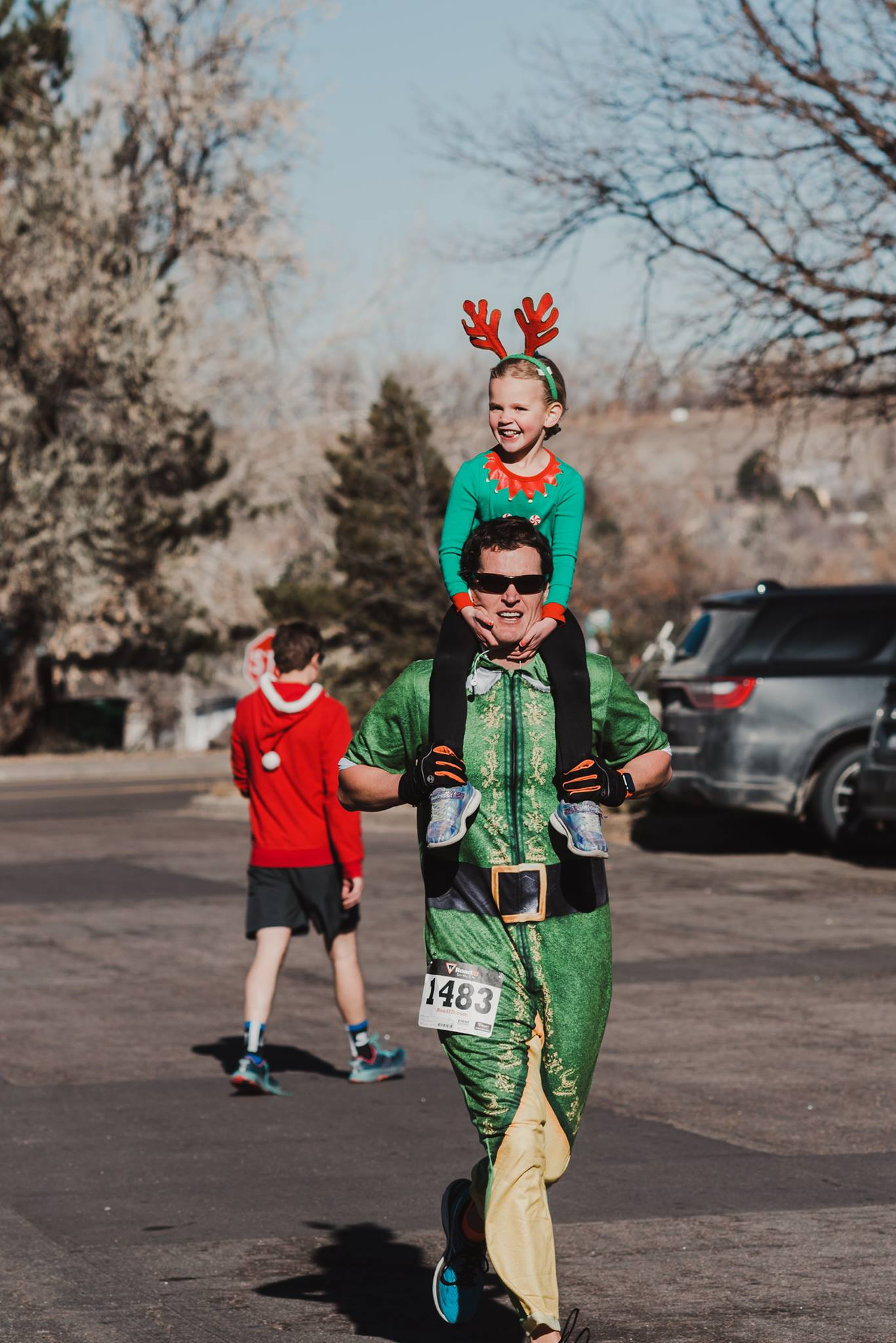 Dress to impress for our post run Ugly Sweater contest!