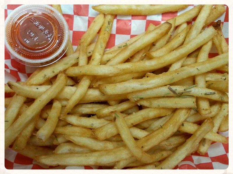 Rosemary Garlic Fries