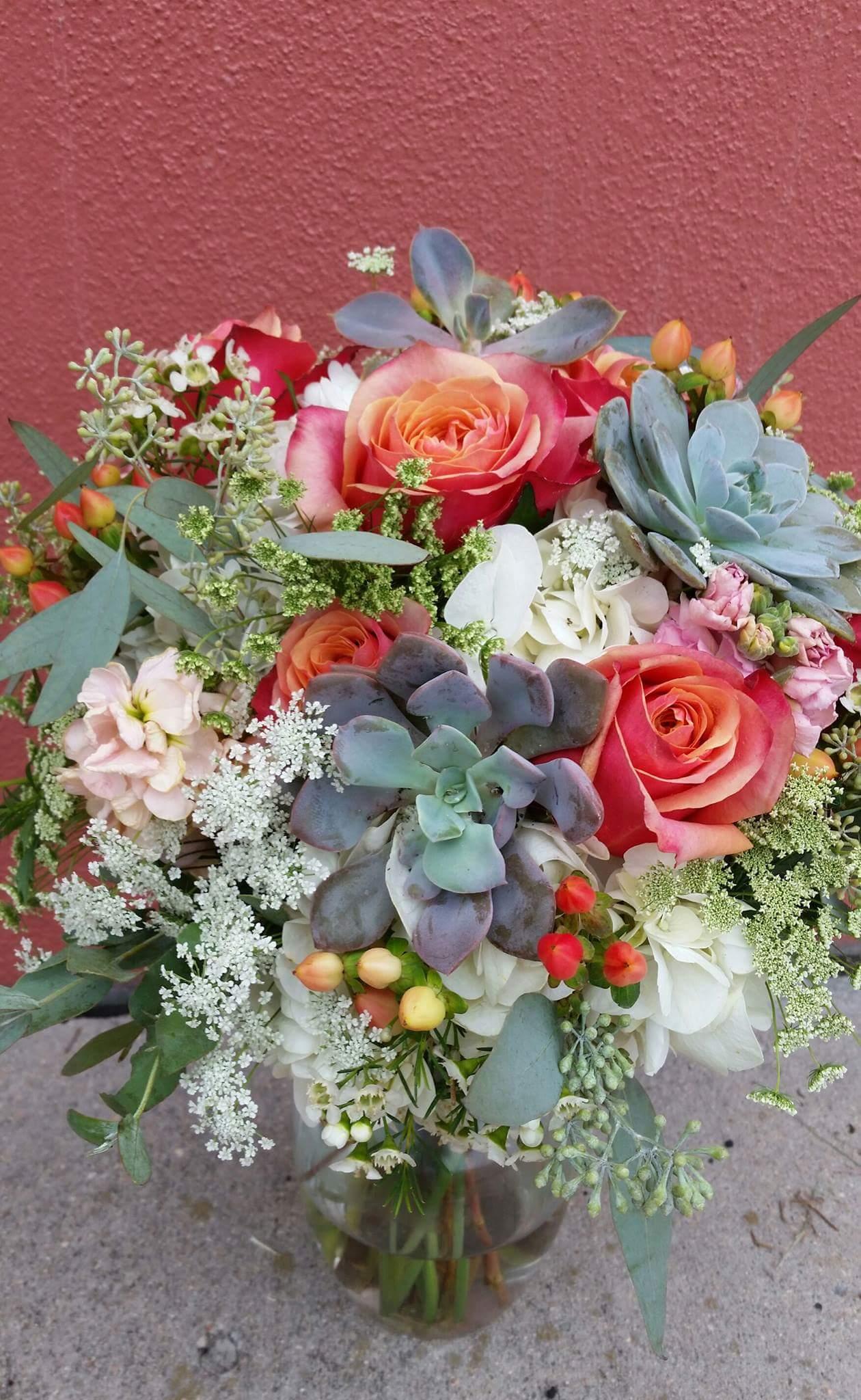 Rhonda Nichols, wedding florist in Colorado Springs