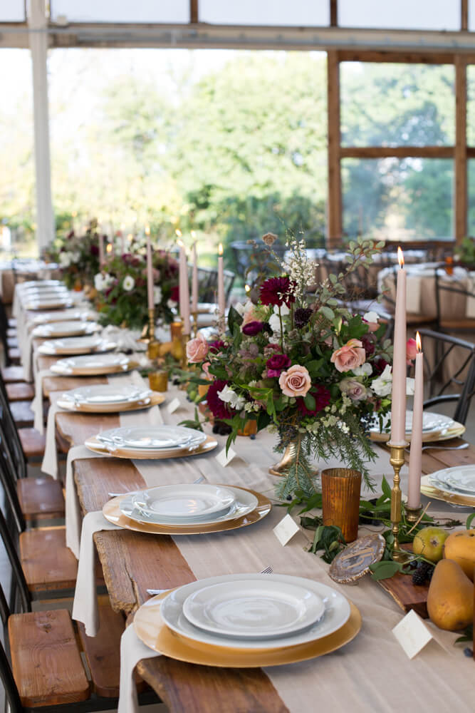 Romantic Farm to Table Tablescape - Barr Mansion