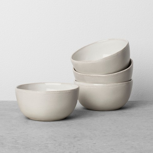 tiny white bowls