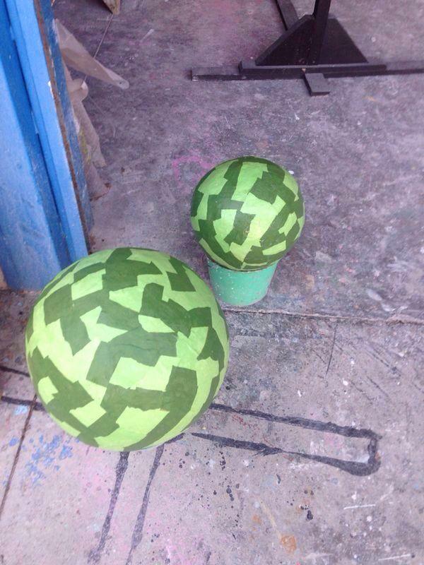 Las bolas verdes