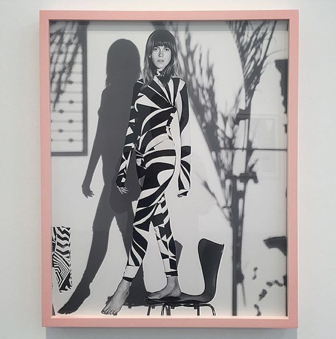 Dazzle Camo Jumpsuit featured on Photograph Mag.