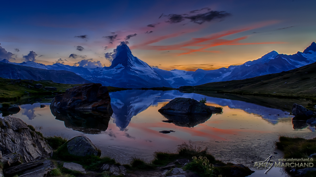 Matterhorn, Zermatt, Switzerland, August 2013  24mm, 5xBKT, f /11, ISO 200