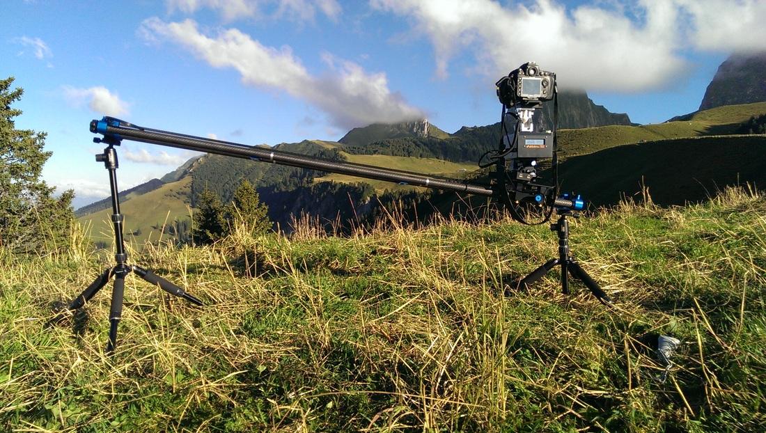 eMotimo TB3 on dp stage one slider with Nikon D800 setup