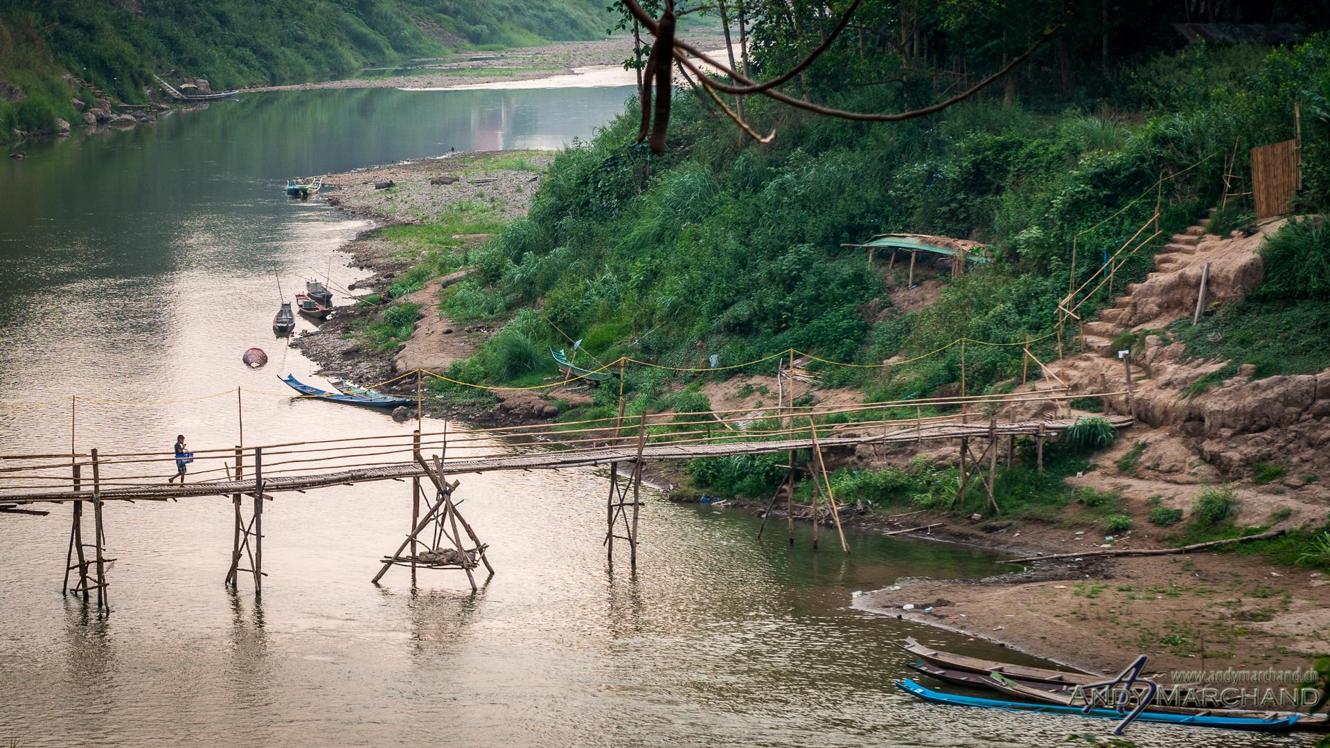 Bridge over Nam Khan
