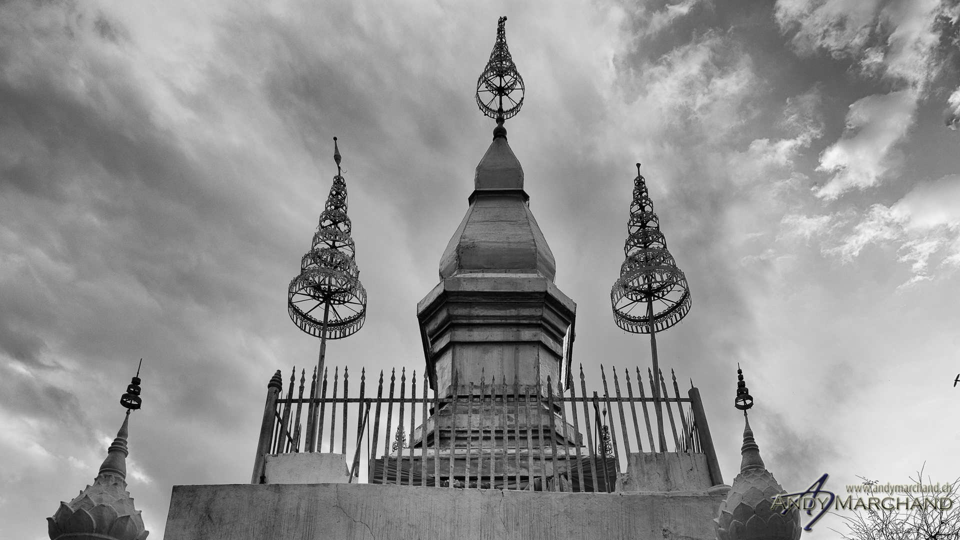 Wat Chom Si (Mount Phousi, Luang Prabang)