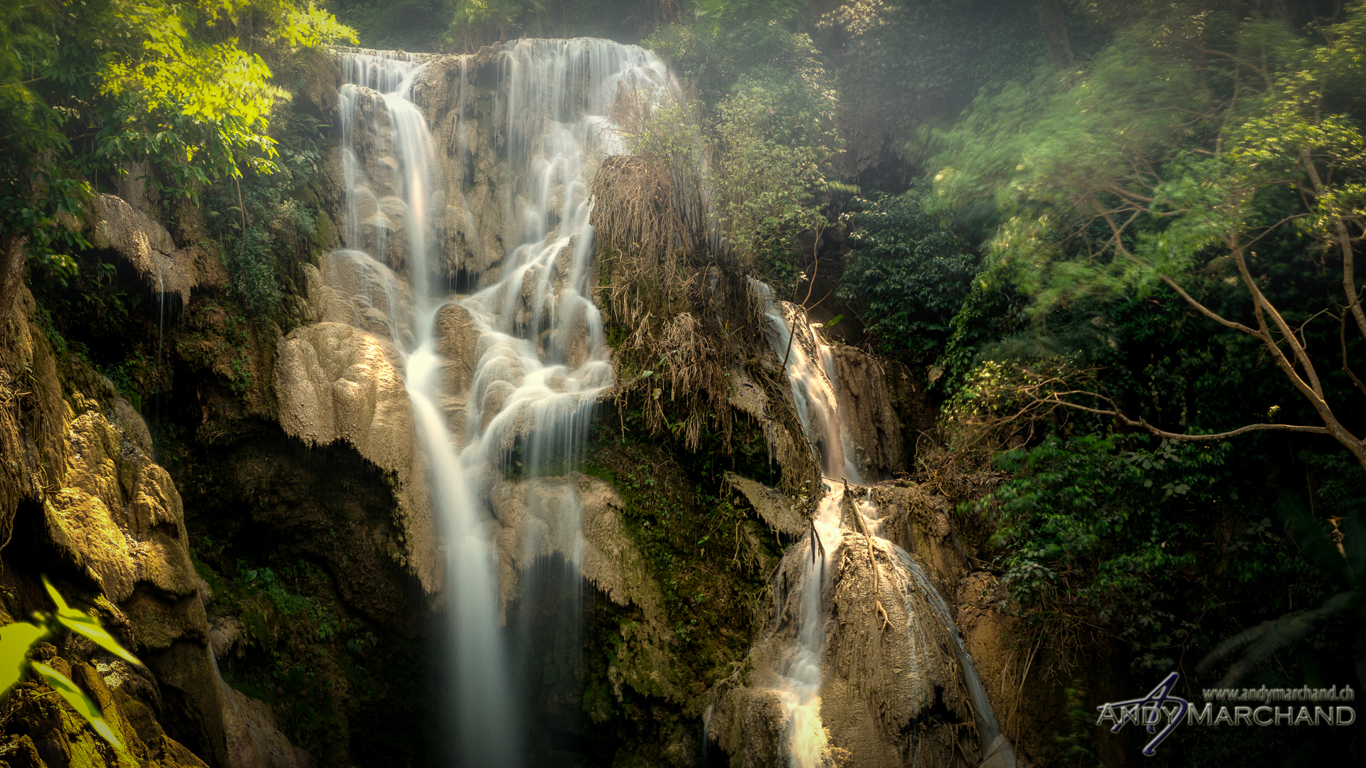 Kouangxi Waterfalls