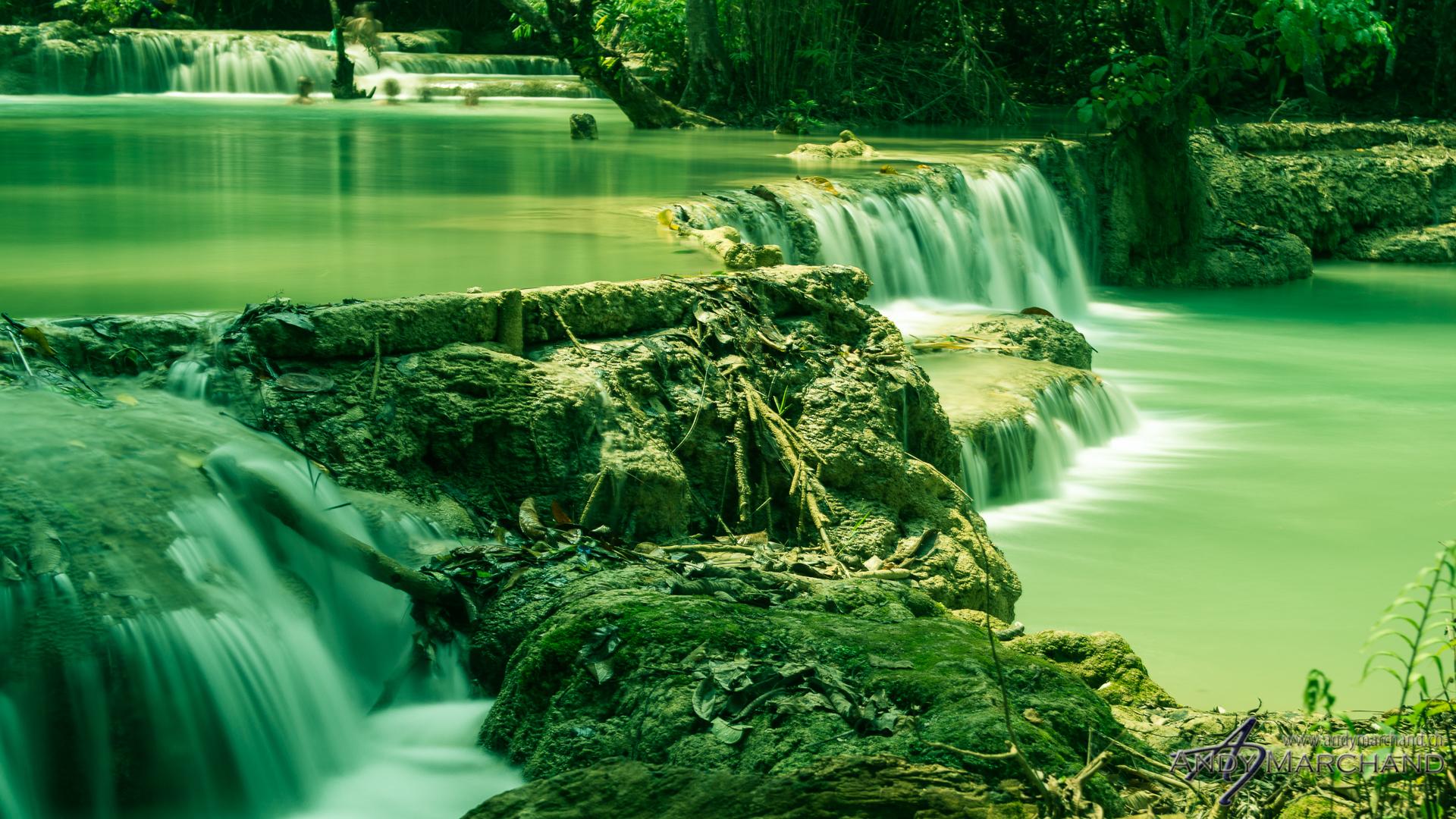 Kouangxi Waterfalls
