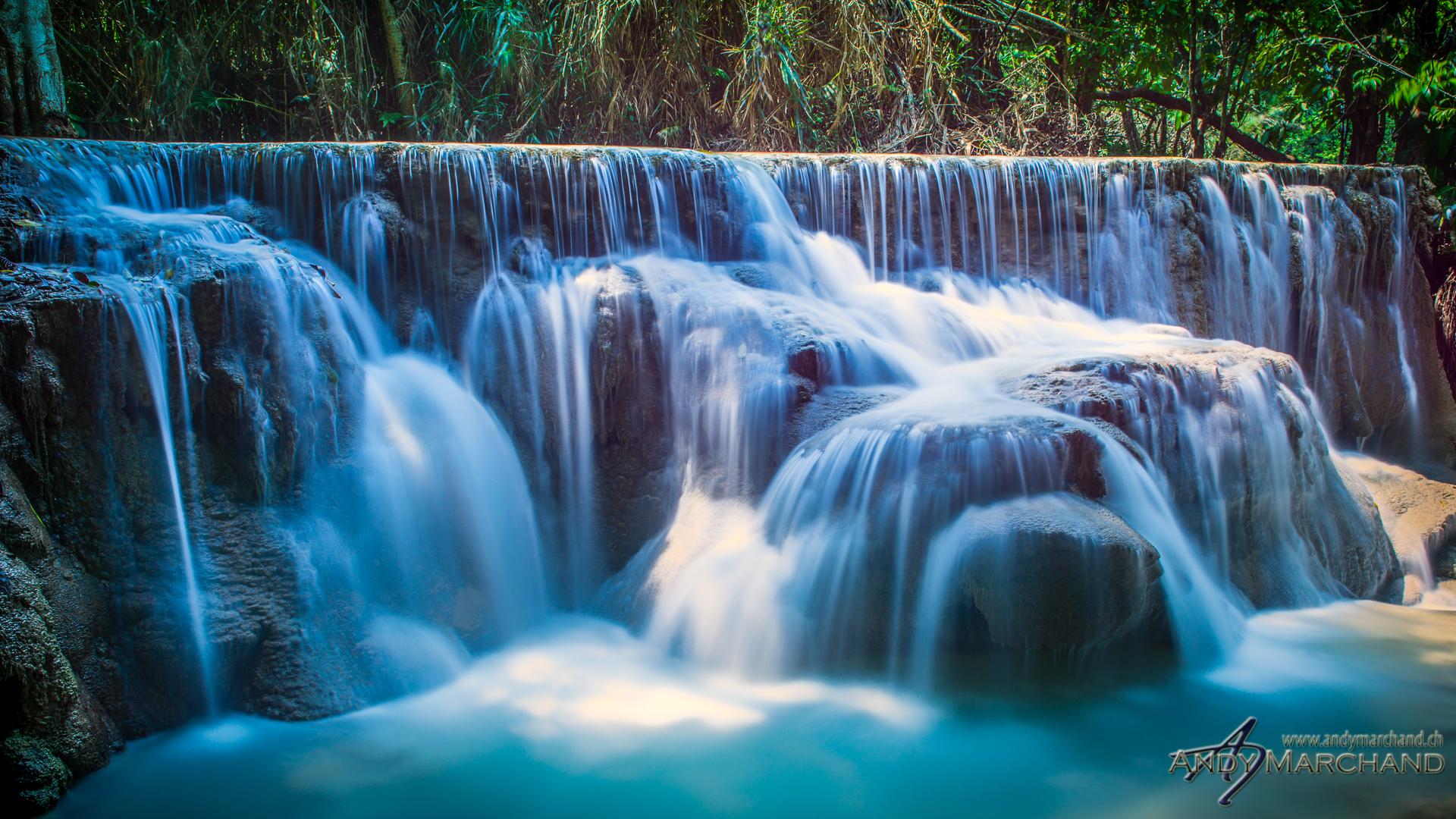 Kouangxi Waterfall