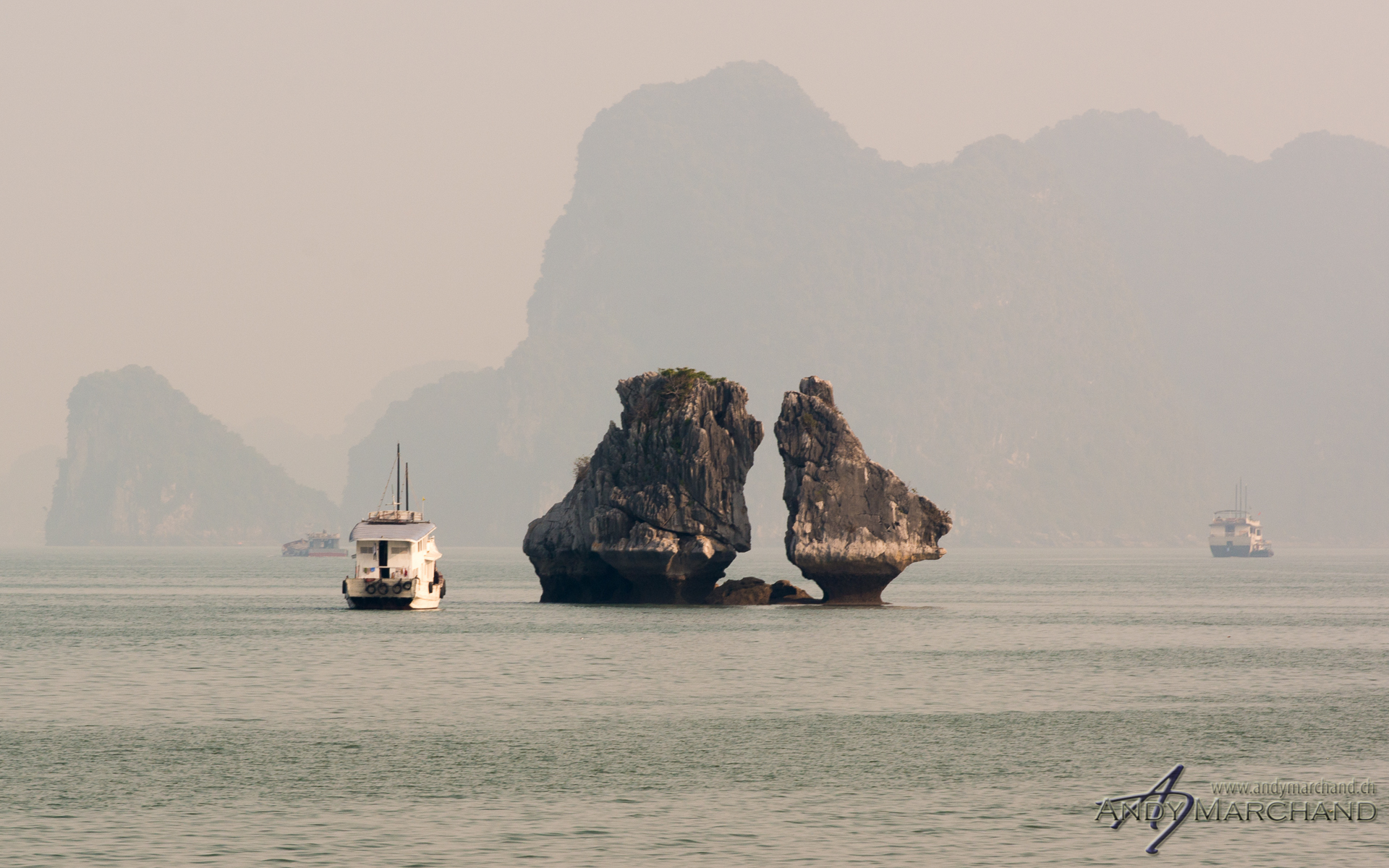 Trong Mai Islet aka Fighting Cock Rocks