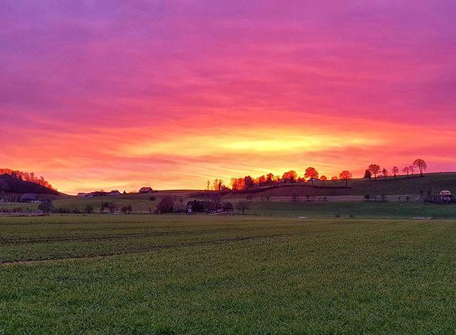 #Sunset #November #GalaxyS8plus #Worb #Switzerland