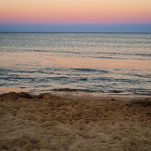 #France #Summer17 #CapDAgde #PlageDeLaRoquille #Sunset #Mediterranean #Sand #Sea #Sky #Trinity