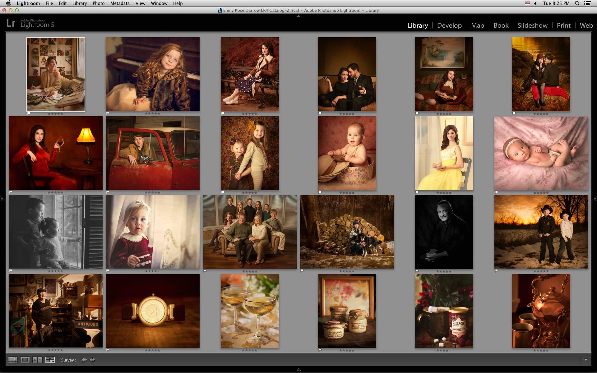 My final portfolio as it was presented.