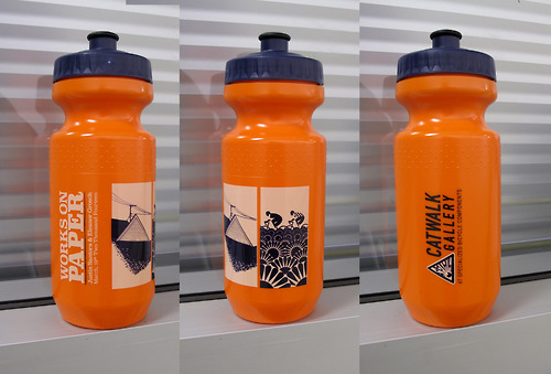 They make water bottles with the show artwork on them!