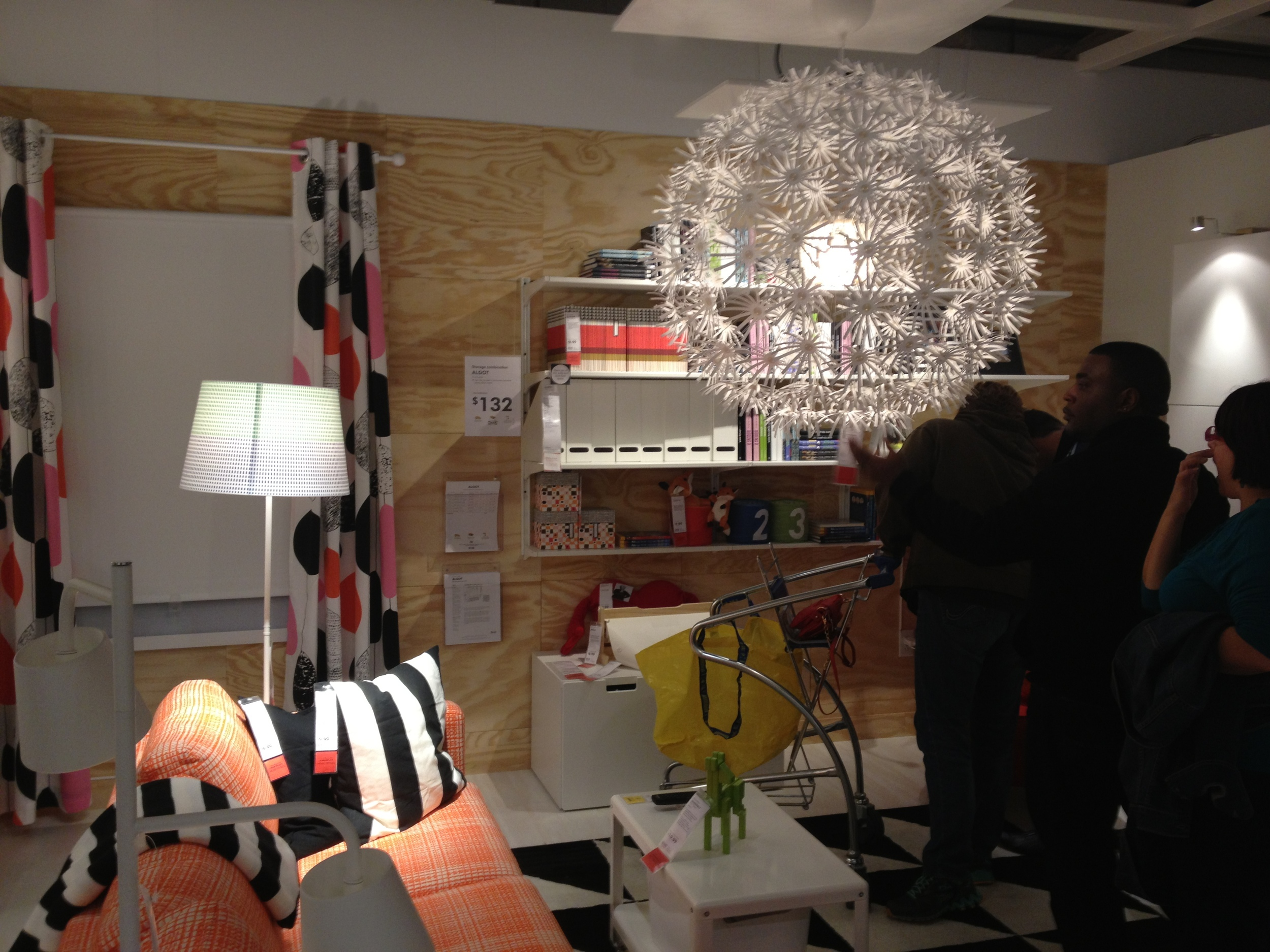 The iconic IKEA light.